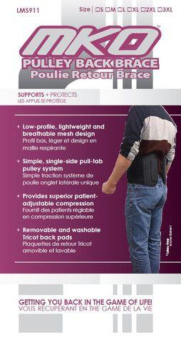 MKO Pulley Back Brace - Home Health Store Inc