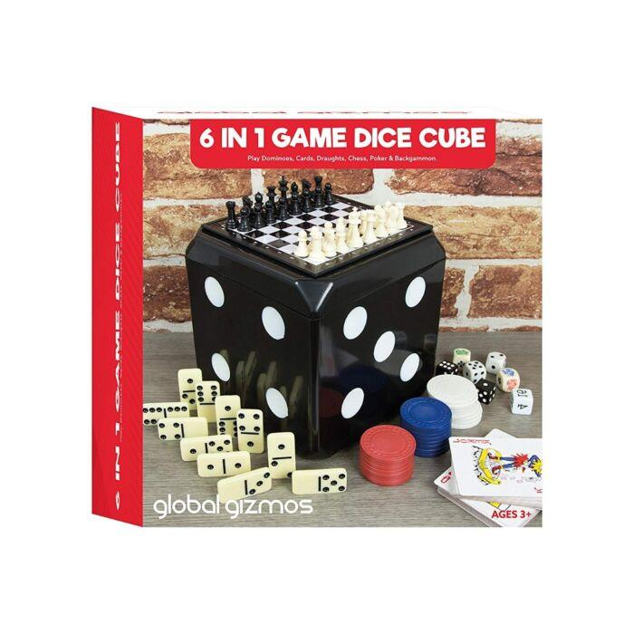 Global Gizmos 6 In 1 Game Set 51330