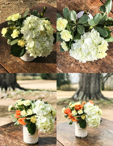 Theology of Home Floral Tutorial Steps 5-8