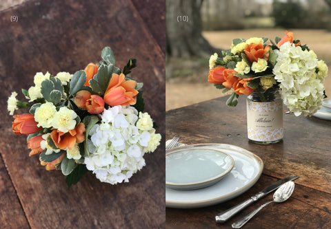 Theology of Home Floral Tutorial Steps 9-10