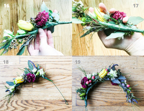 Theology of Home Floral Crown Tutorial