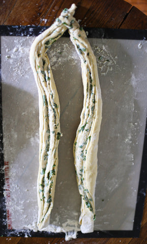 honey basil ricotta twisted loaf bread theology of home