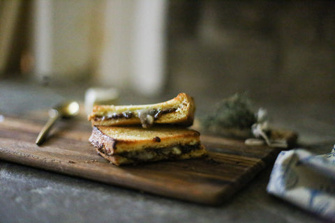 theology of home brie grilled cheese