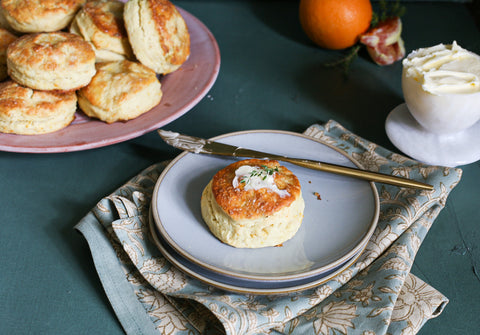 Theology of Home Orange and Thyme Biscuits