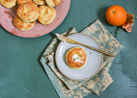 Orange and Thyme Biscuits Theology of Home