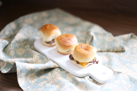 Theology of Home Oven Baked Cheeseburger Sliders