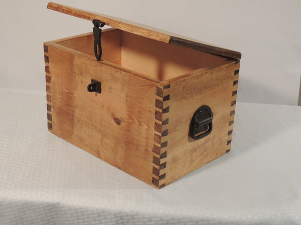 Box with dove tail joints