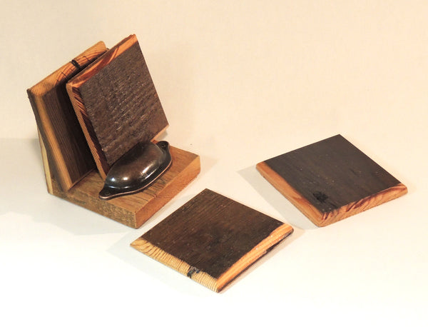 Real Barn Wood Coasters