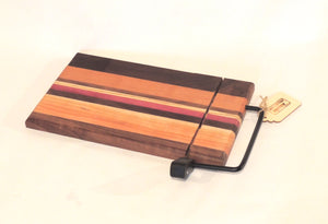 Hardwood Wire Cheese Cutting Board