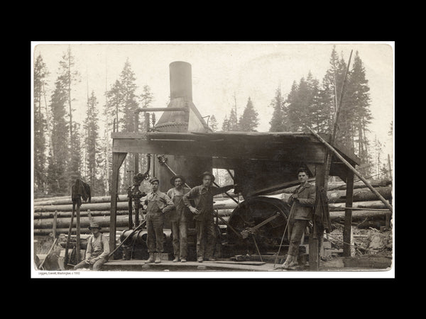 Loggers, Everett Washington c. 1910