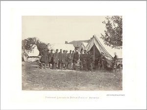President Lincoln at the Battlefield
