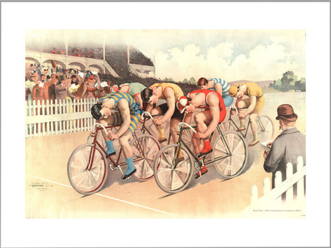 Cycle Race 1895