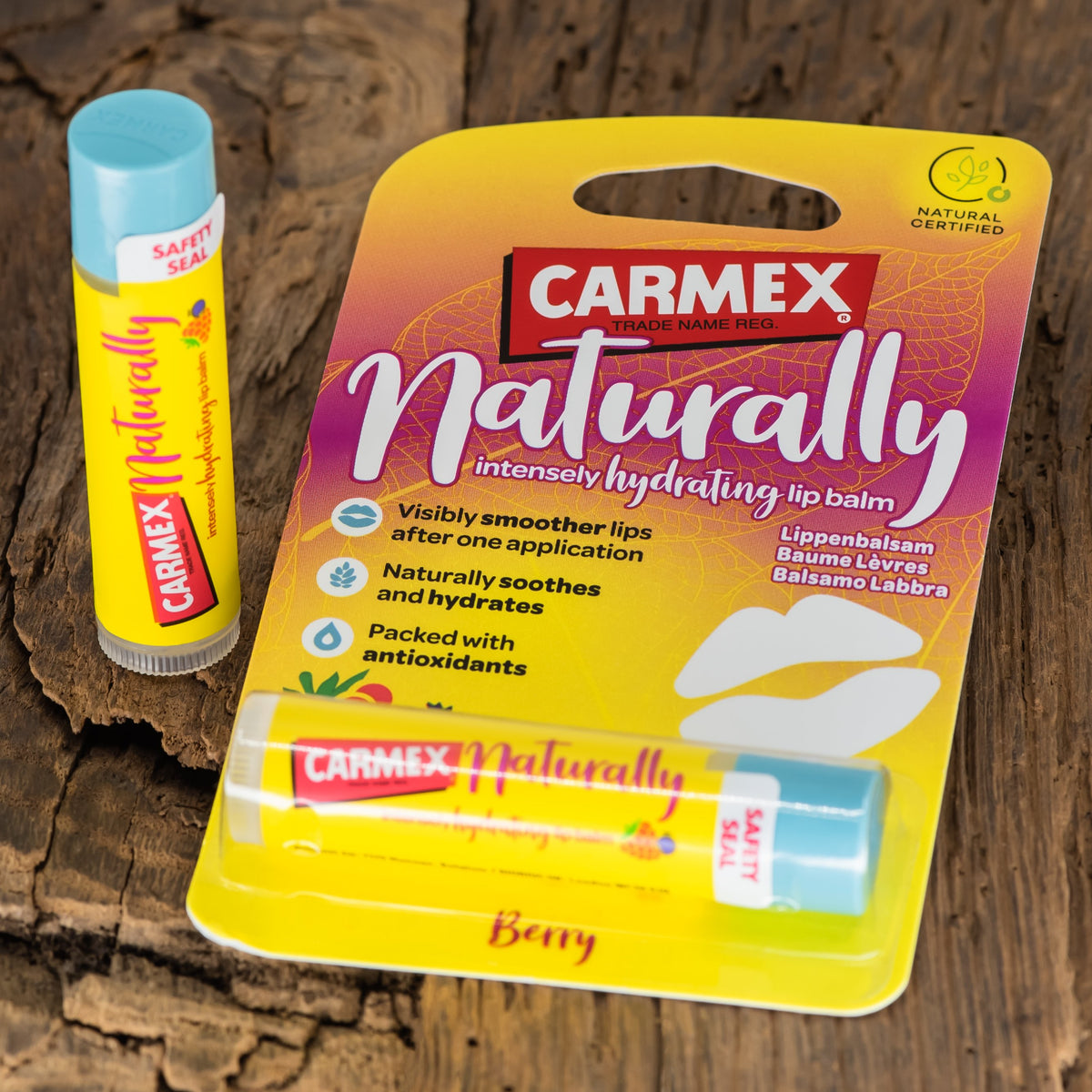 CARMEX NATURALLY STICK BERRY