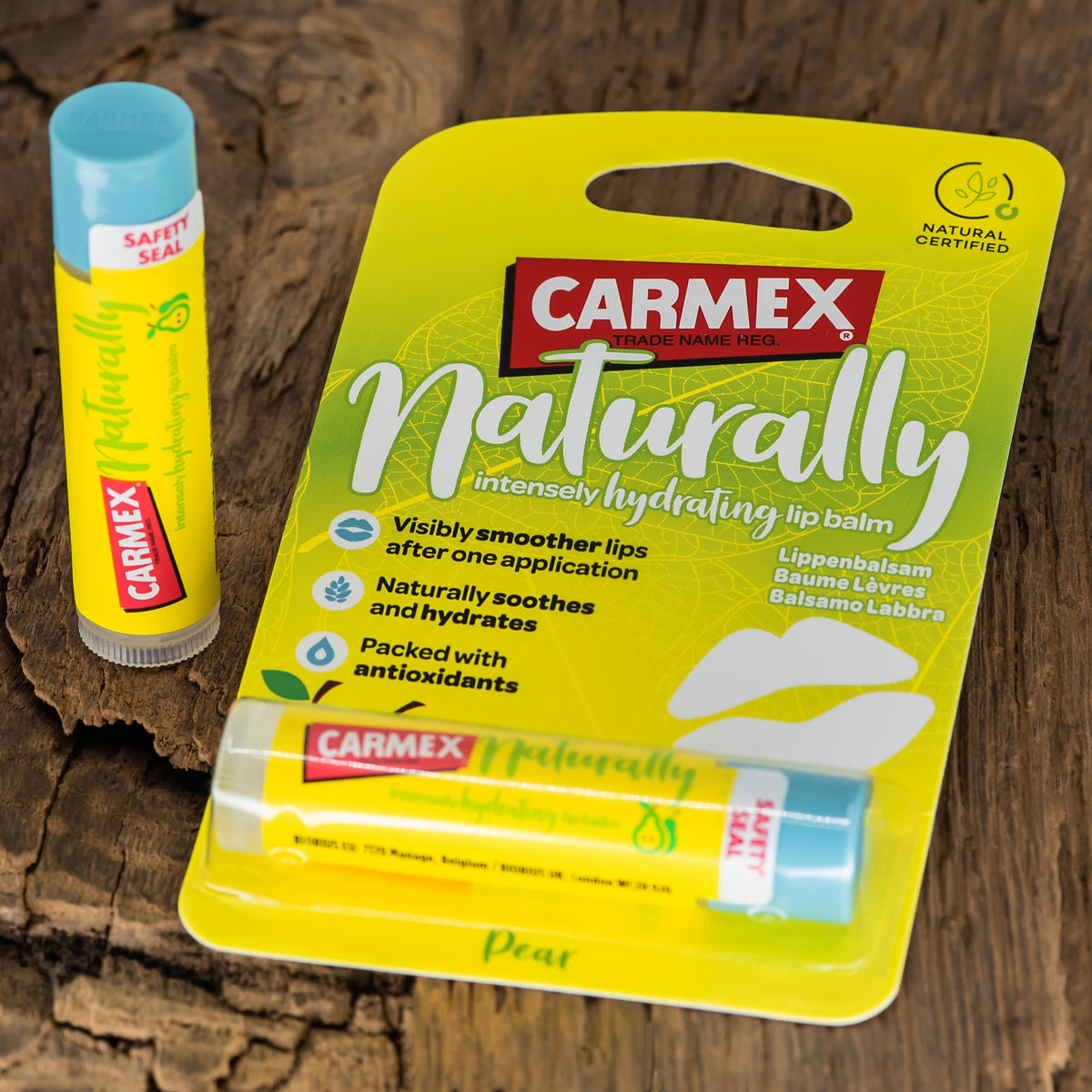 CARMEX NATURALLY STICK PEAR