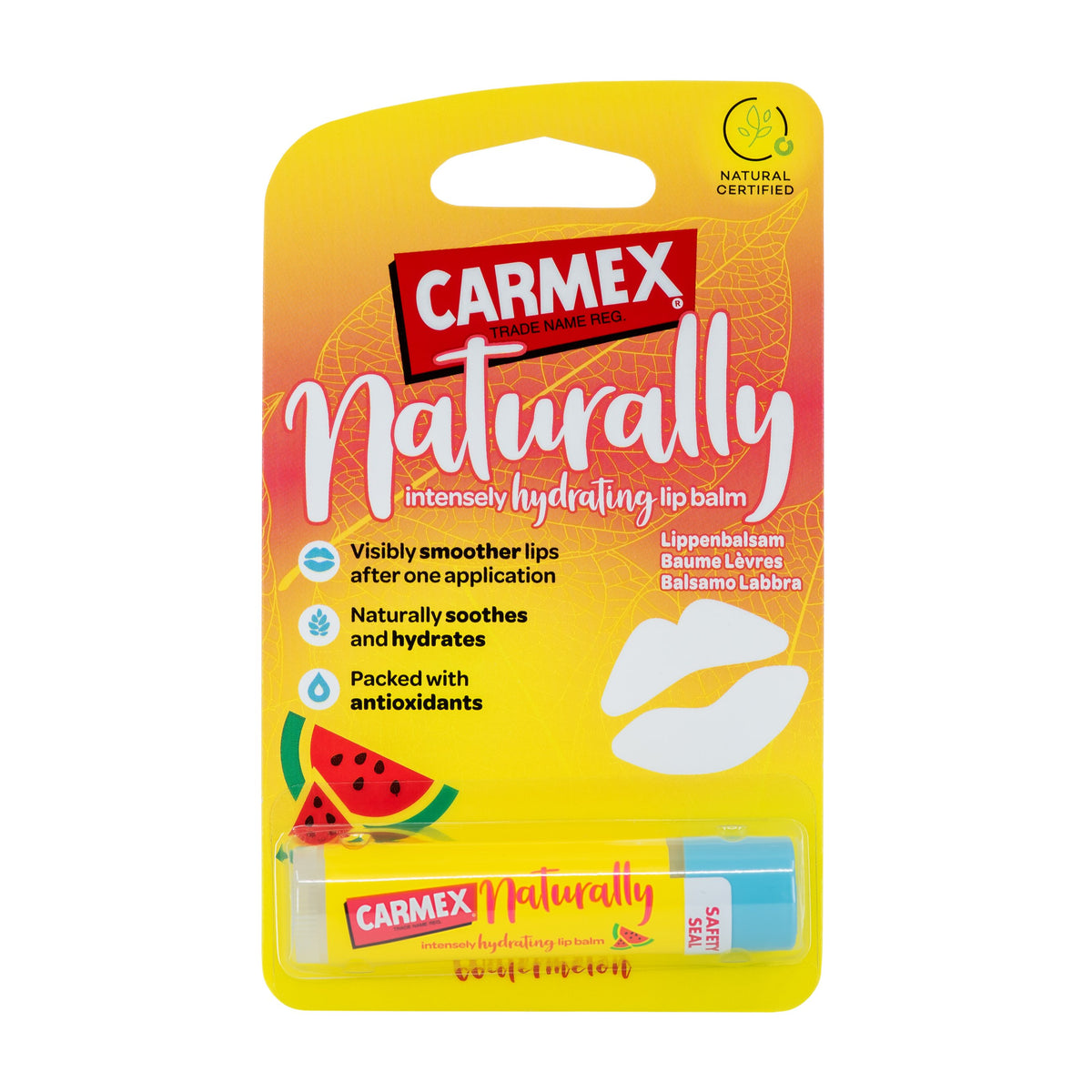 CARMEX NATURALLY STICK WATERMELON