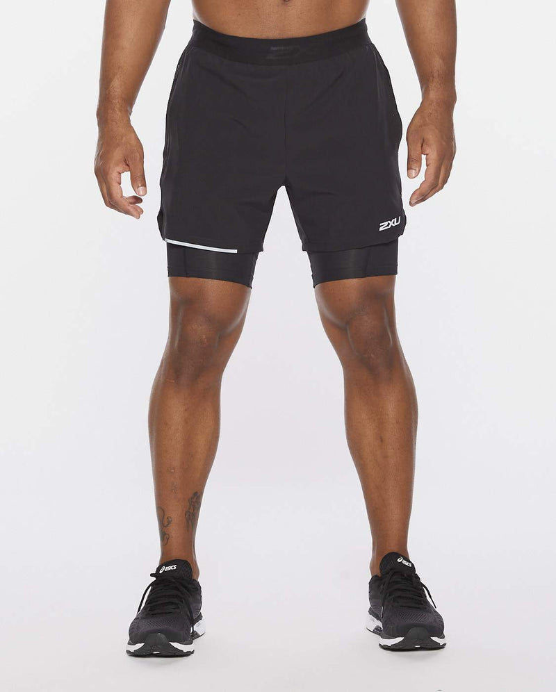 2XU Xvent 2-In-1 5 Inch Short