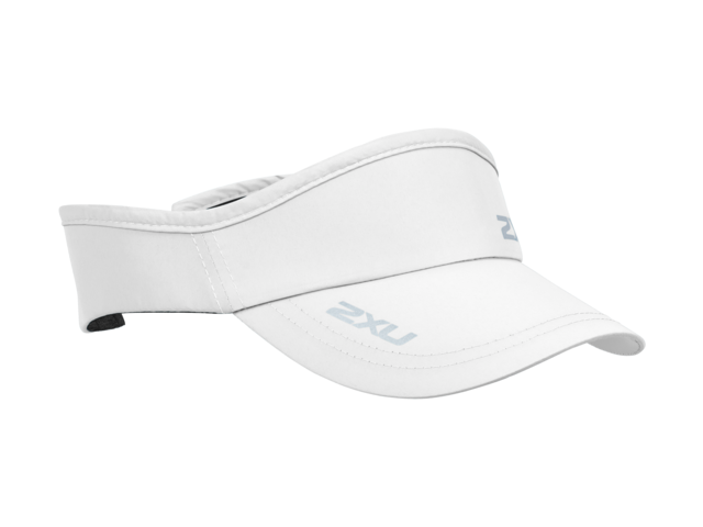 Run Visor Unisex White