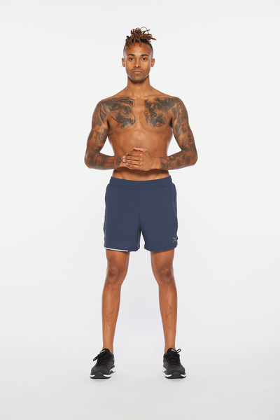 "Aero 5"" Shorts Men Blue"