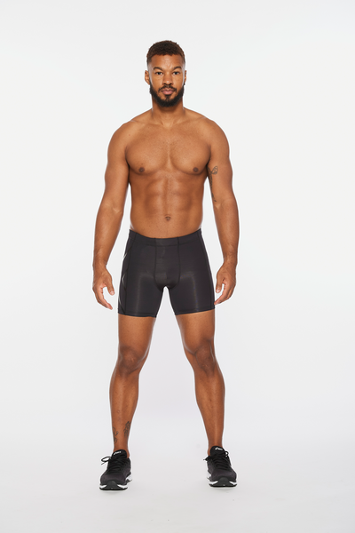 Core Compression 1/2 Shorts Men Black