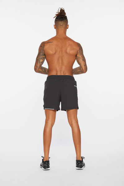 "Aero 5"" Shorts Men Black"