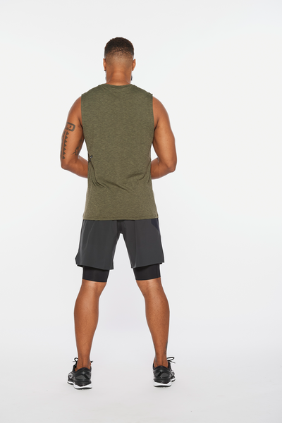 Motion Tank Mens Green