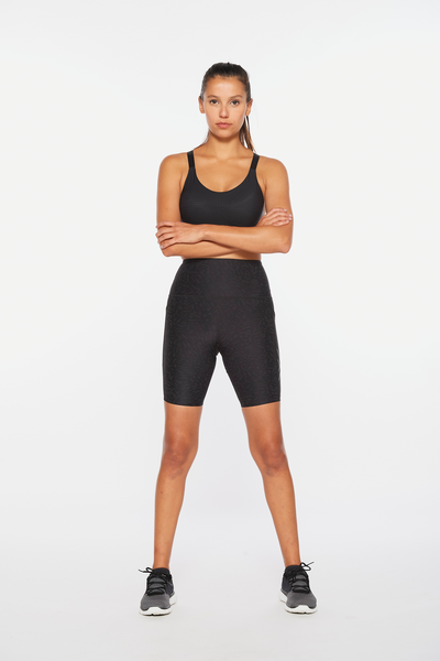 Aero Reflect Hi-Rise Comp Shorts Women Black