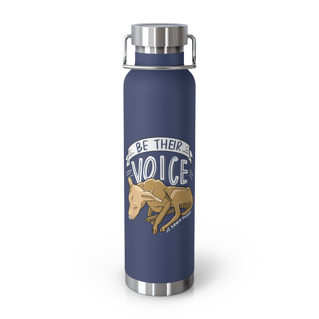 Save Skippy 22oz Vacuum Insulated Bottle [NEW]