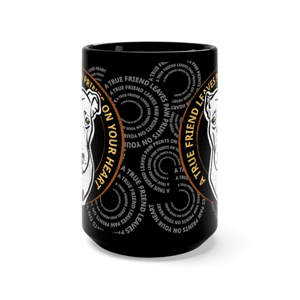 Save Chickie Black Mug 15oz