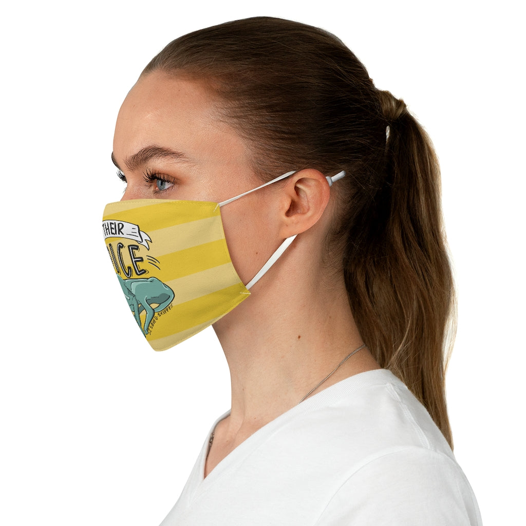 Save Skippy Fabric Face Mask