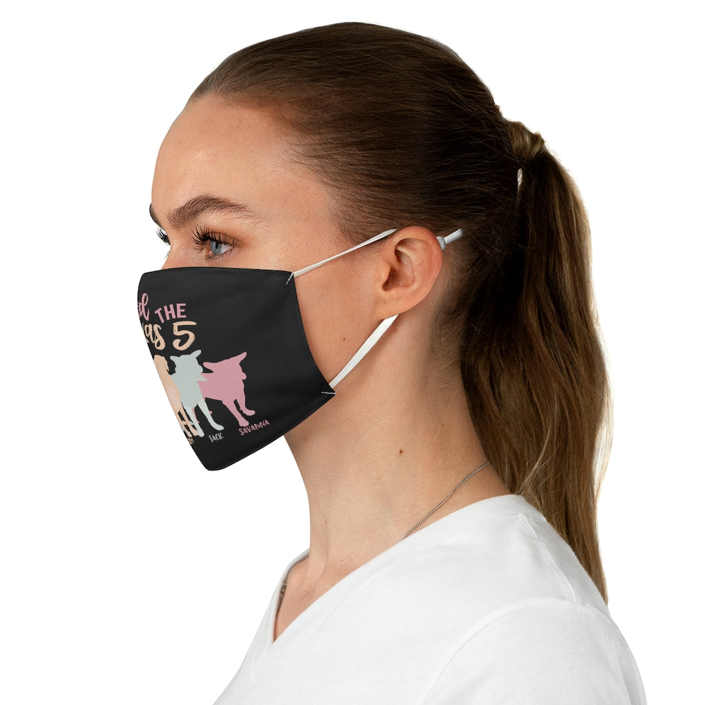 Save the Texas 5 Fabric Mask