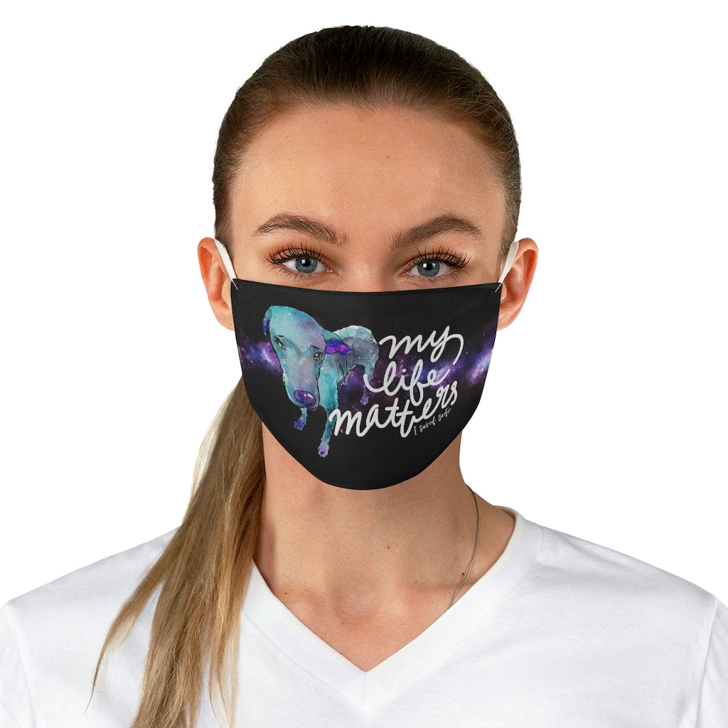 Save Sadie Fabric Face Mask