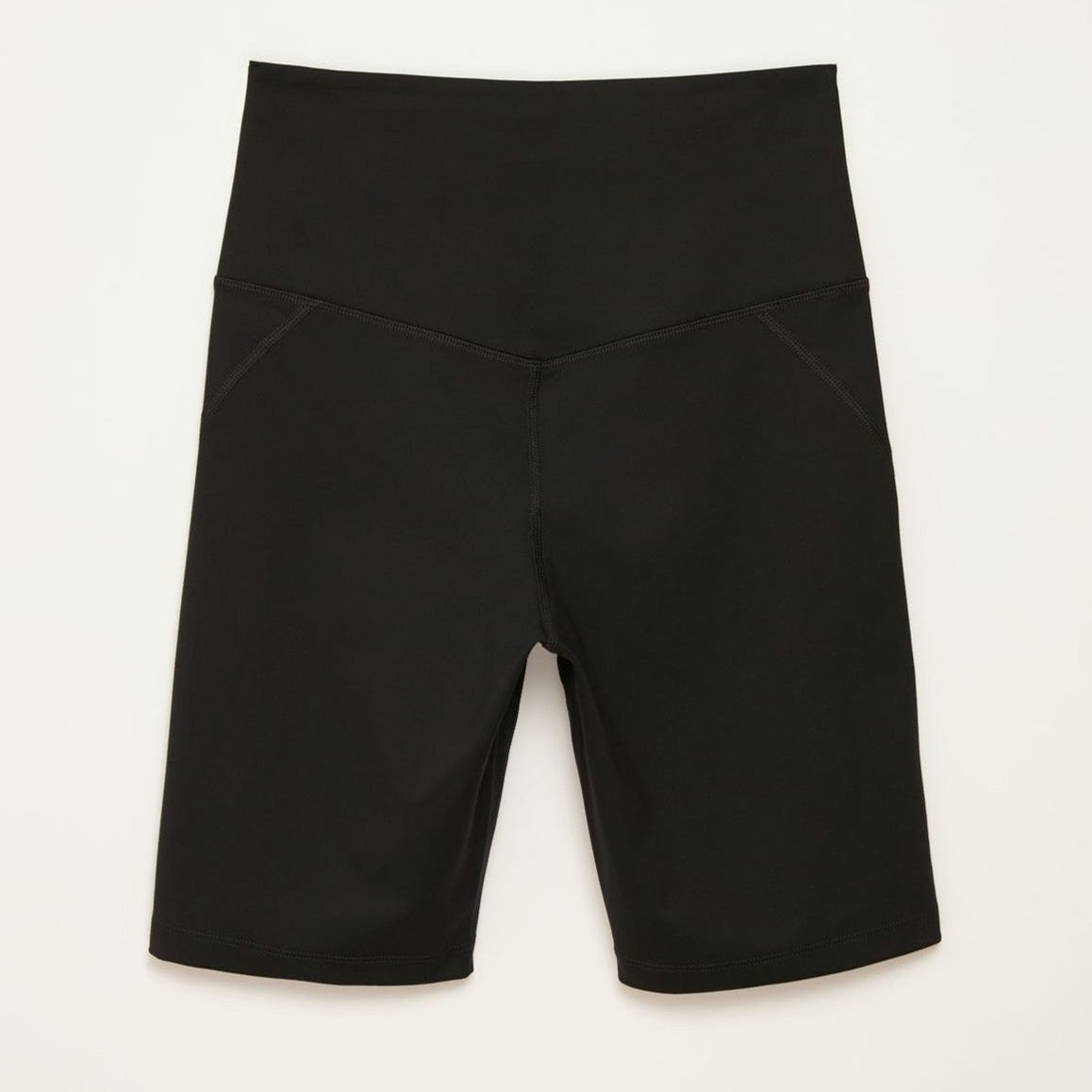 Girlfriend Collective Black High-Rise Bike Short
