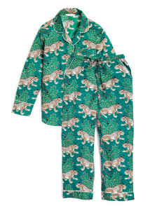 Printfresh long sleeve green Pajama set