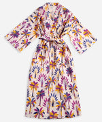Load image into Gallery viewer, Printfresh Royal Palms Robe - Amethyst