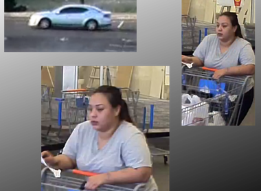Oklahoma City Police seek public's help locating Walmart hit and run suspect