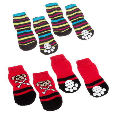 PET SOCKS ANTISLIP SMALL / Colores mixtos Ferplast