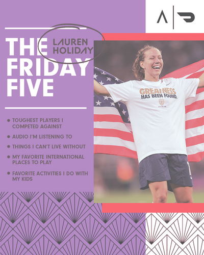 The Friday Five x DoorDash: Lauren Holiday Edition
