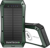 SunTecko GREEN Wireless Solar Power Bank 20000mAh