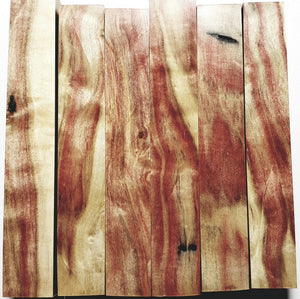Stabilized Flamed Box Elder Pen Blanks