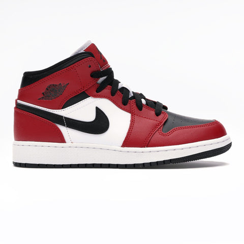 Jordan 1 Mid Chicago Black Toe