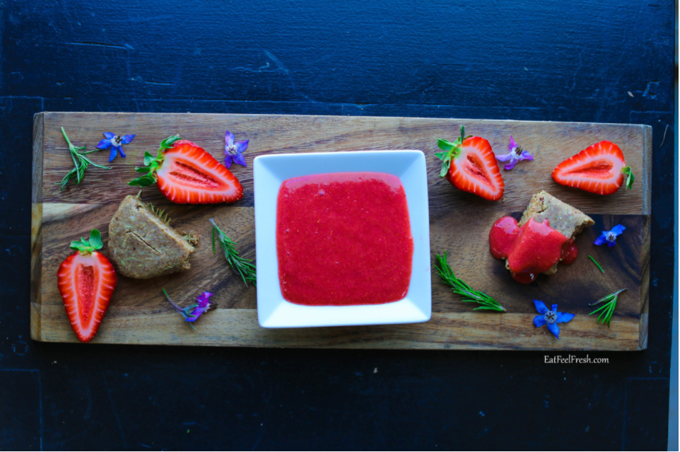 Meatless Monday: Sahara Super Fresh Strawberry Jam