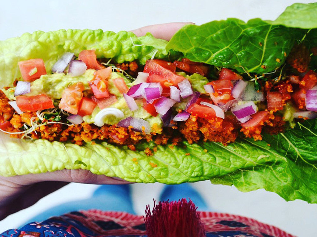 Meatless Monday Recipe: Raw Vegan Tacos