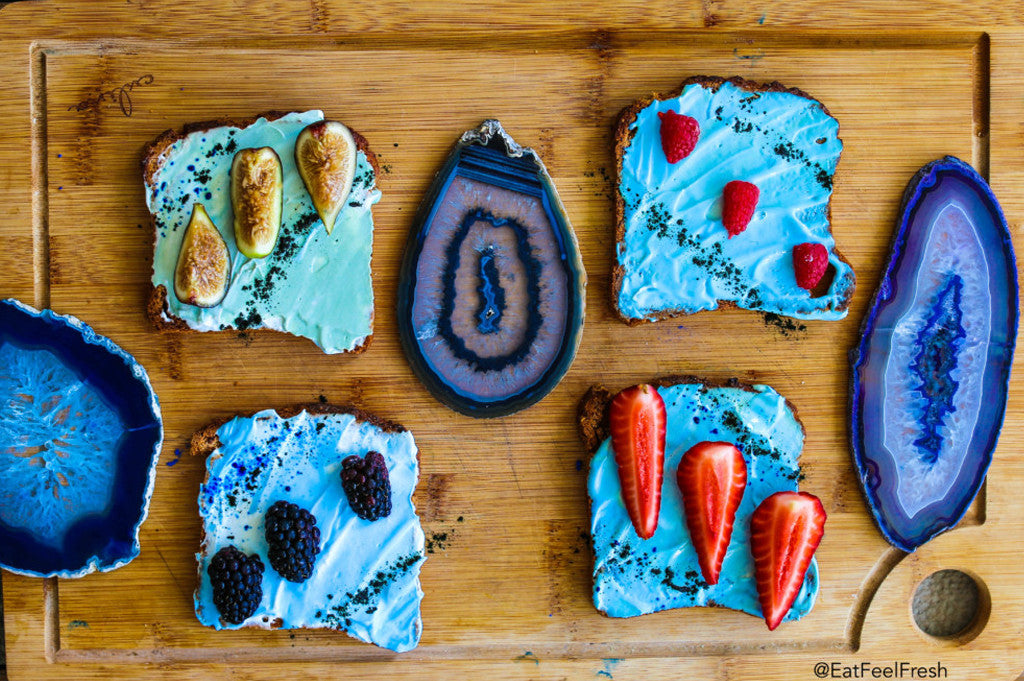 Meatless Monday: Mermaid Toast Gone Raw Vegan