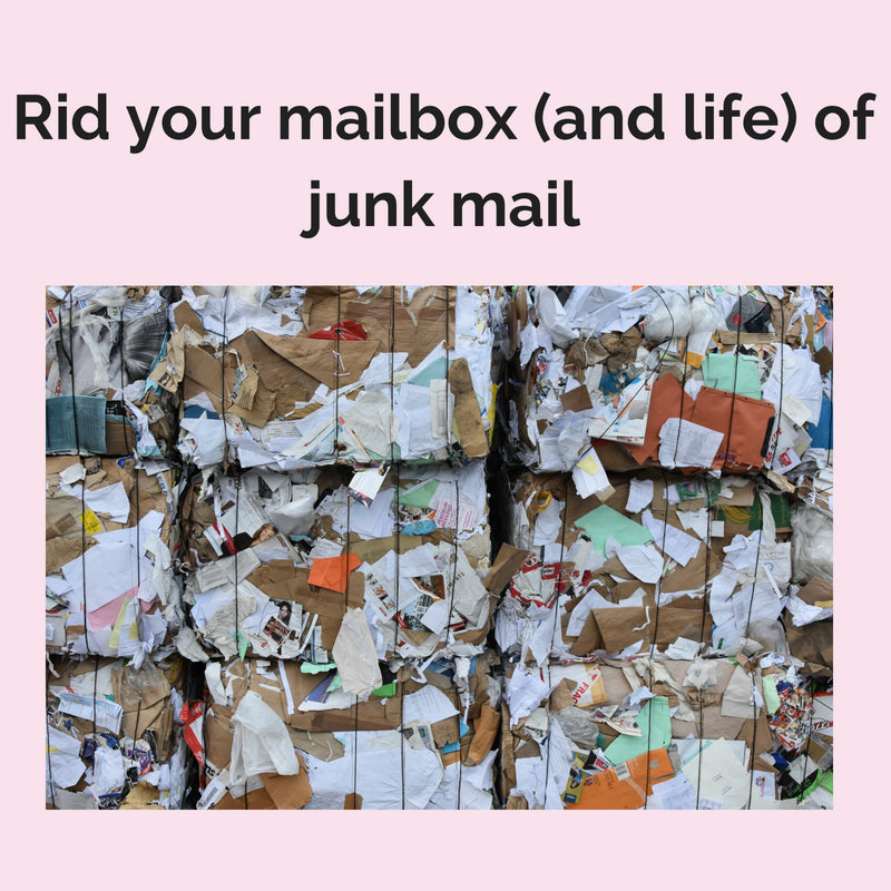 Rid your mailbox of junk mail