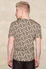 Men's Bali Gold Crew Neck Tee