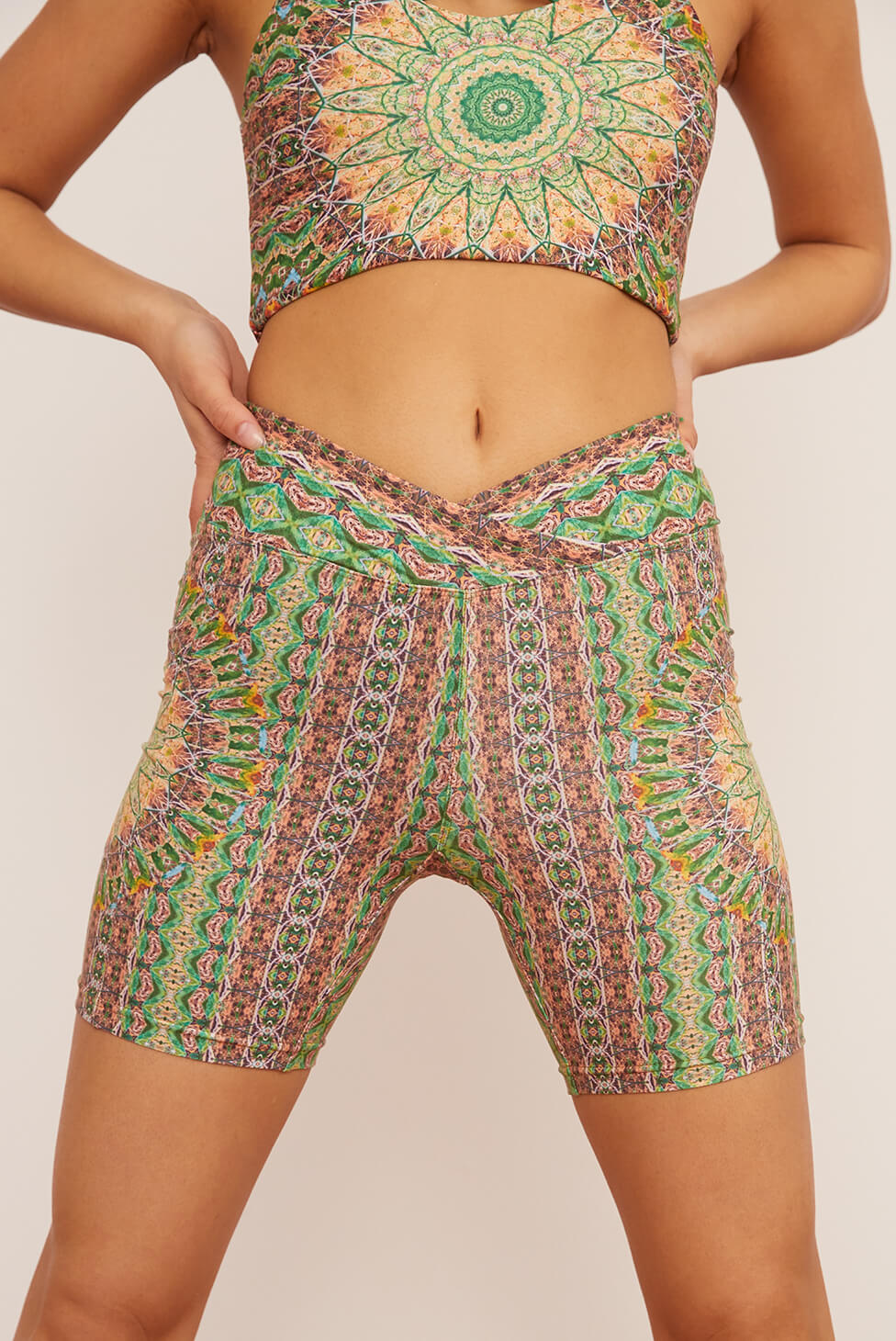 Fauna Midi Bike Short