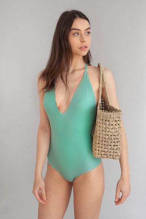 Jungle Deep-V One Piece