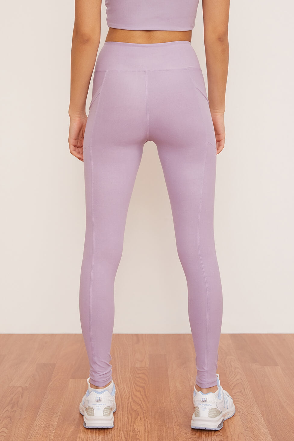 Crossover Pocket Legging | Lavender