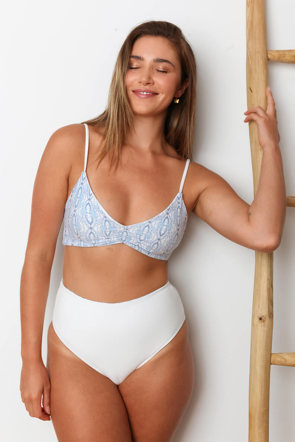 Aquarius Reversible High-Waisted Bikini Bottom