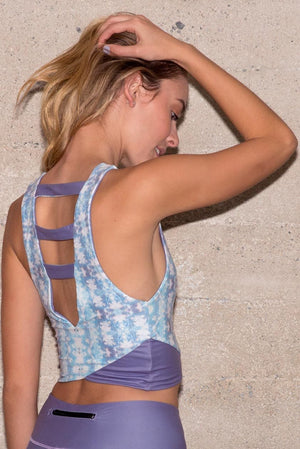 Stratus Reversible Yoga Top